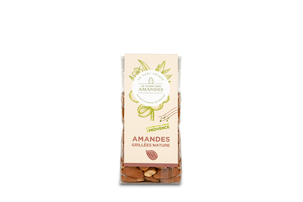 amandes grillees nature